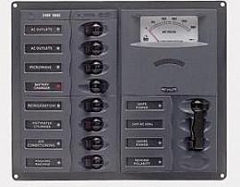 AC paneli sa analognim instrumentima